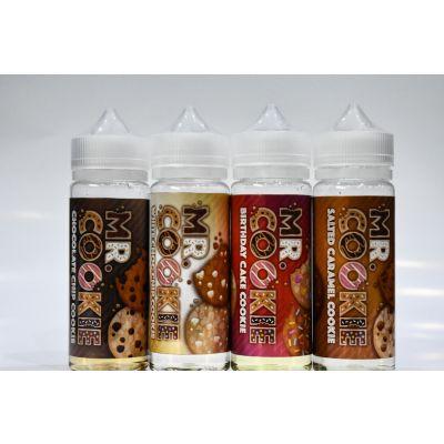MR COOKIE E Liquid 100ml Vape Juice Delicious Cookie Flavours