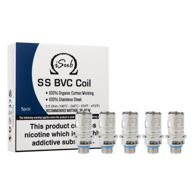 Innokin iSub SS BVC Coils 0.5 Ohm