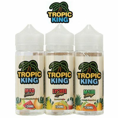 Tropic King 100ml E-Liquid Shortfills No Nicotine 0mg