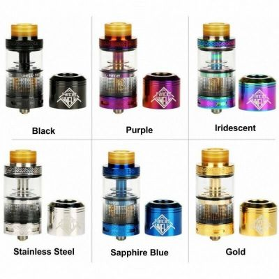 UWELL FANCIER RTA & RDA TWO FOR ONE TANK 100% AUTHENTIC + FREE P&P