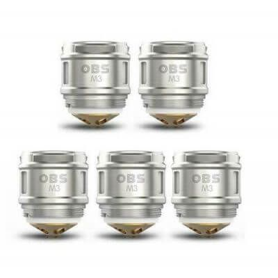OBS M3 0.15 ohm Coils for Cube or Draco Kit Authentic UK Seller