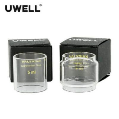 UWELL Valyrian 5ml / 8ml bulb Replacement Pyrex Glass Tube