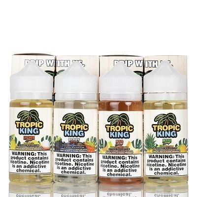 Tropic King Premium American 100ml E Liquid Vape Juice by Dripmore 0mg
